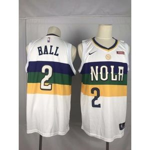 New Orleans Pelicans Lonzo Ball Jersey